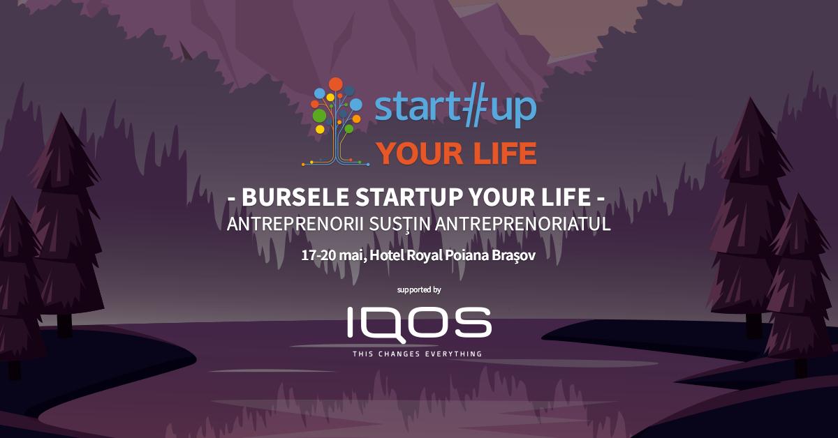 Bursele Startup Your Life - înscrie-te ca să vii la tabăra de afaceri