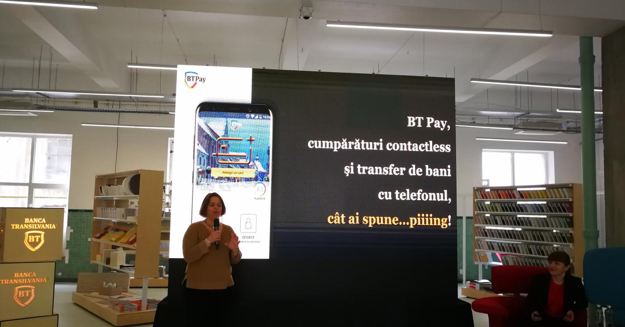 BT Pay: Banca Transilvania te lasă să plătești la magazin cu telefonul