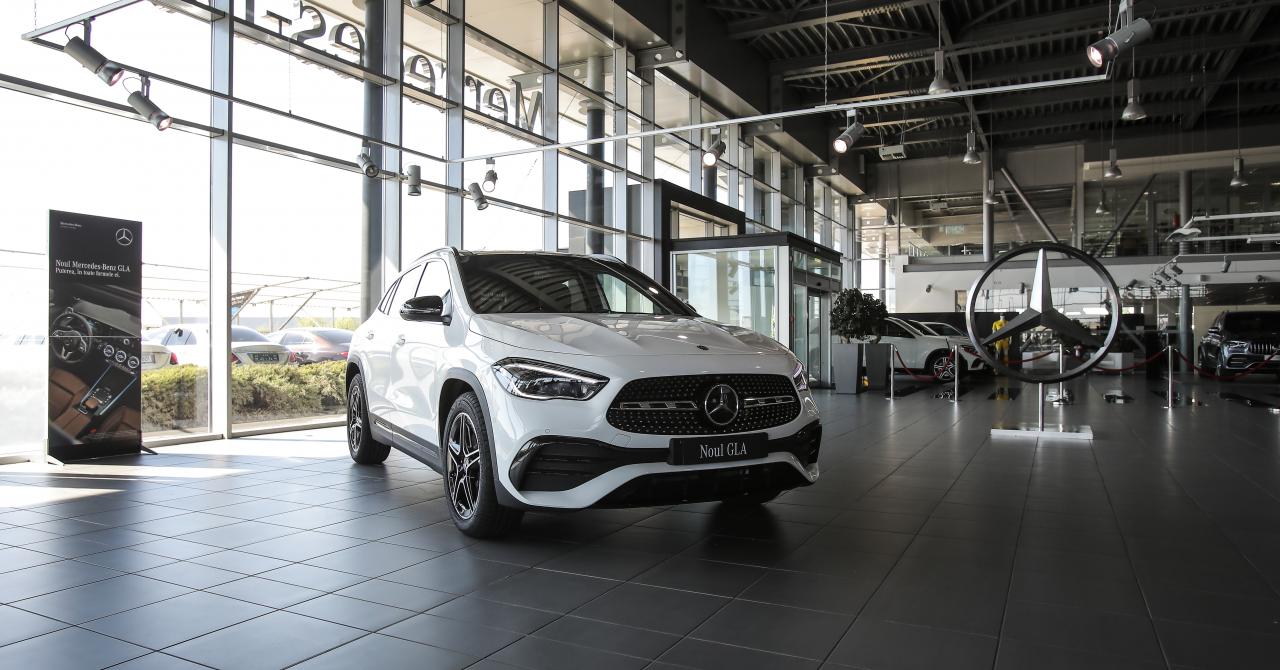 Noul Mercedes GLA, SUV-ul entry level din gama germanilor