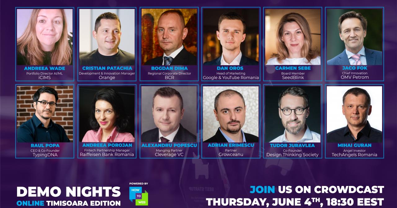 Demo Nights revin pentru startup-urile din Timișoara
