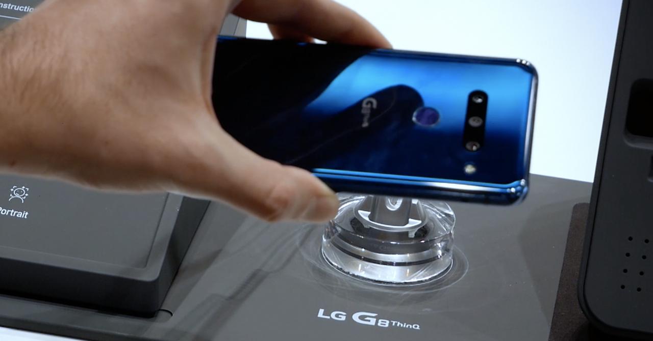 "LG G8 ThinQ Hands On - ""citește"" venele ca să se deblocheze"