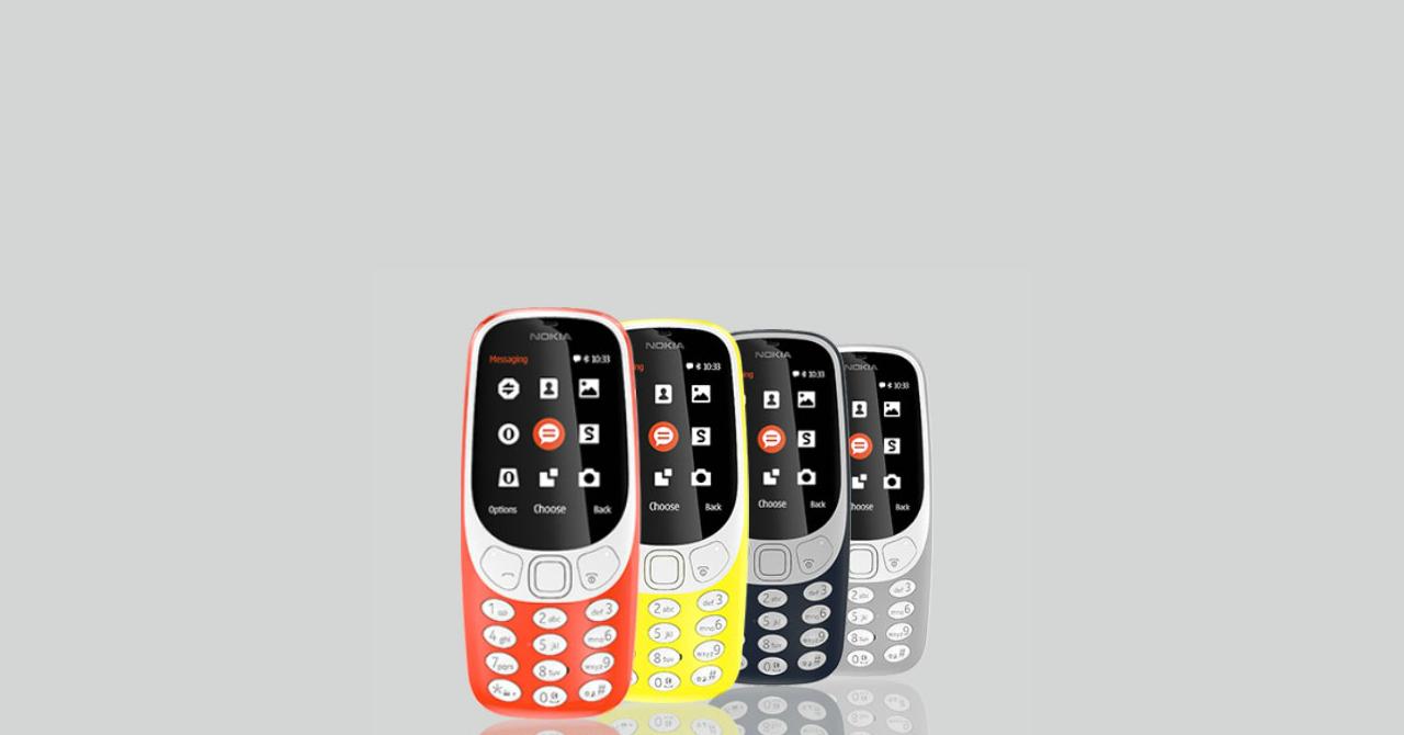Nokia 3310, în oferta Vodafone România