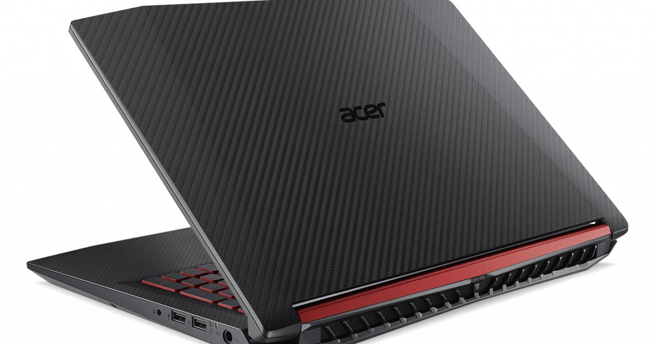 Laptop de gaming nou de la Acer - Nitro 5, lansat la CES 2018