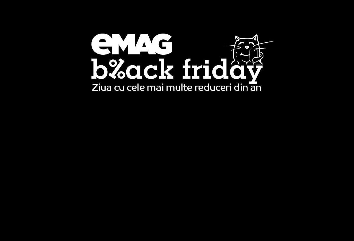 eMAG Black Friday 2020: data când va avea loc festivalul de reduceri și shopping