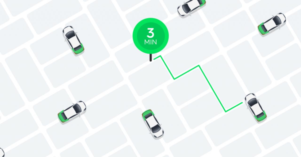 Taxify Delivery: poți trimite colete prin serviciul de ridesharing