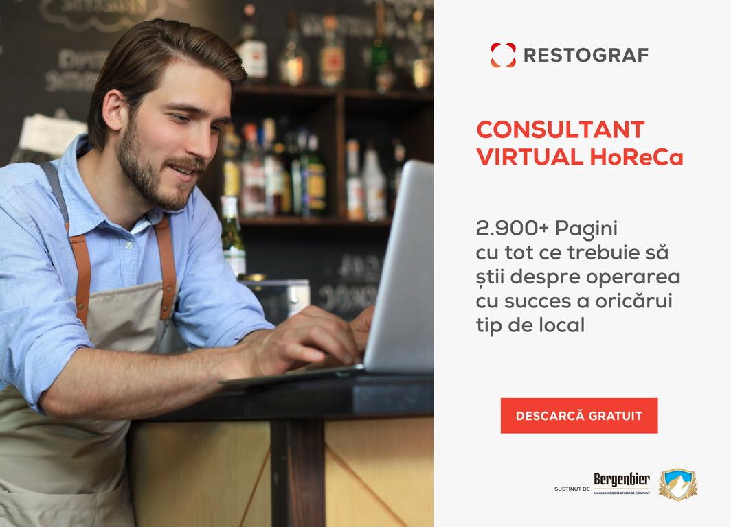 Horeca în pandemie: Consultantul virtual pentru deschiderea de restaurante