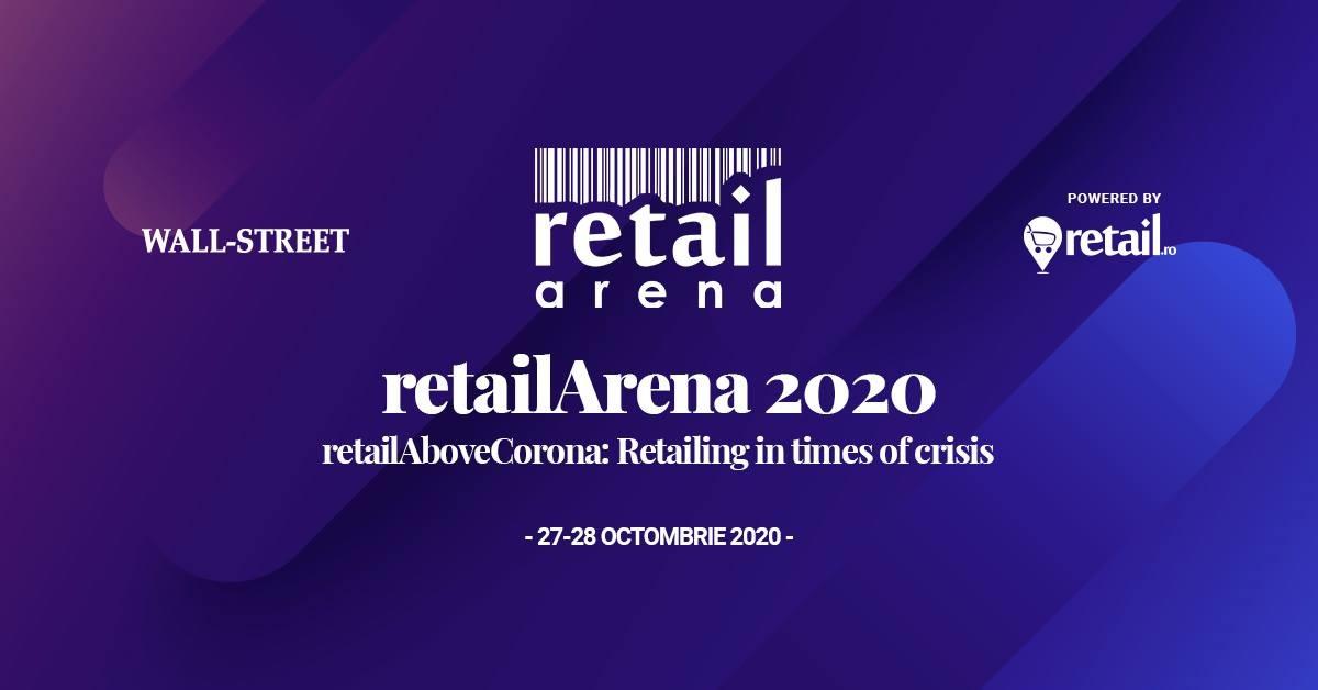 retailArena, eveniment hibrid: RetailAboveCorona pe 27 și 28 octombrie