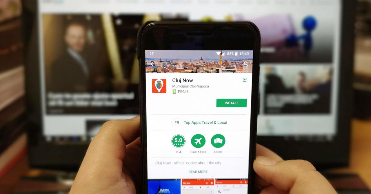 """Clujenii au aplicație care zice dacă avariile din oraș """"sunt de la ei"""""""