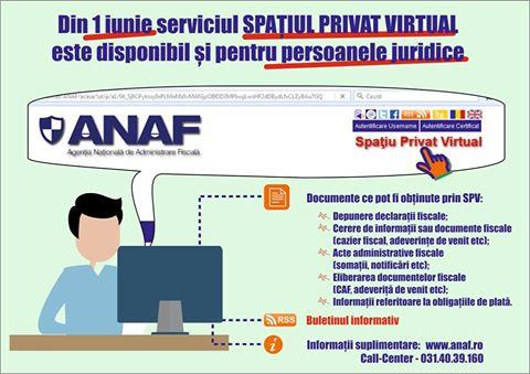 Spațiul Privat Virtual, disponibil pentru companii