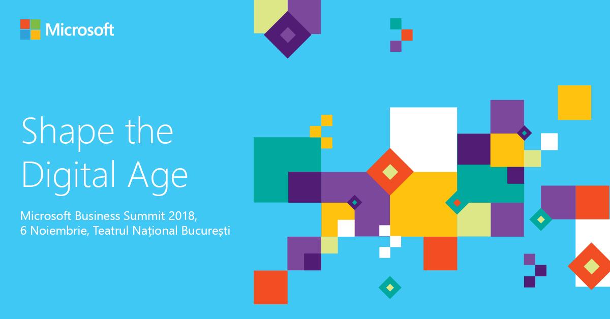 Fost ministru al industriilor creative, la Microsoft Business Summit