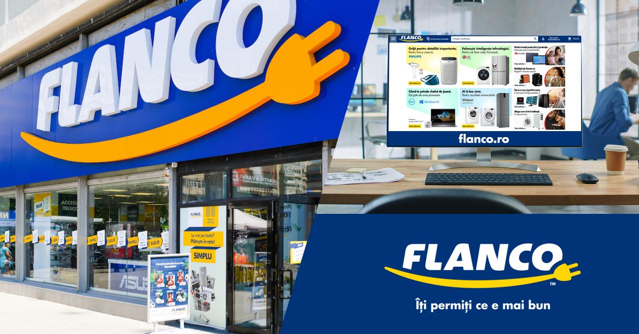Cât a cheltuit Flanco ca să mute magazinul online pe o nouă platformă tehnică