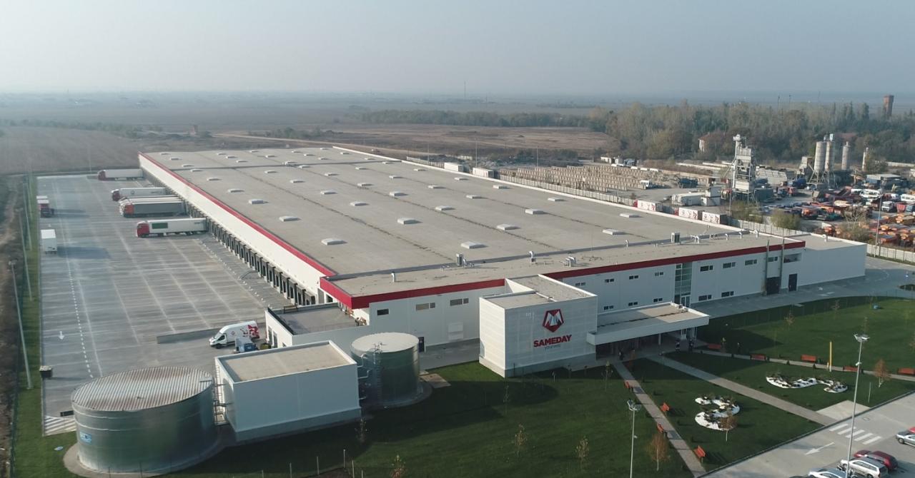 Sameday investește 20 mililioane de euro într-un centru logistic