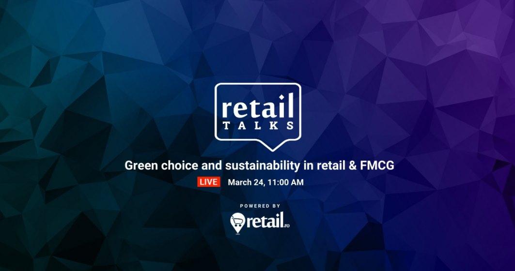 retailTalks - conferință online despre importanța sustenabilității în retail