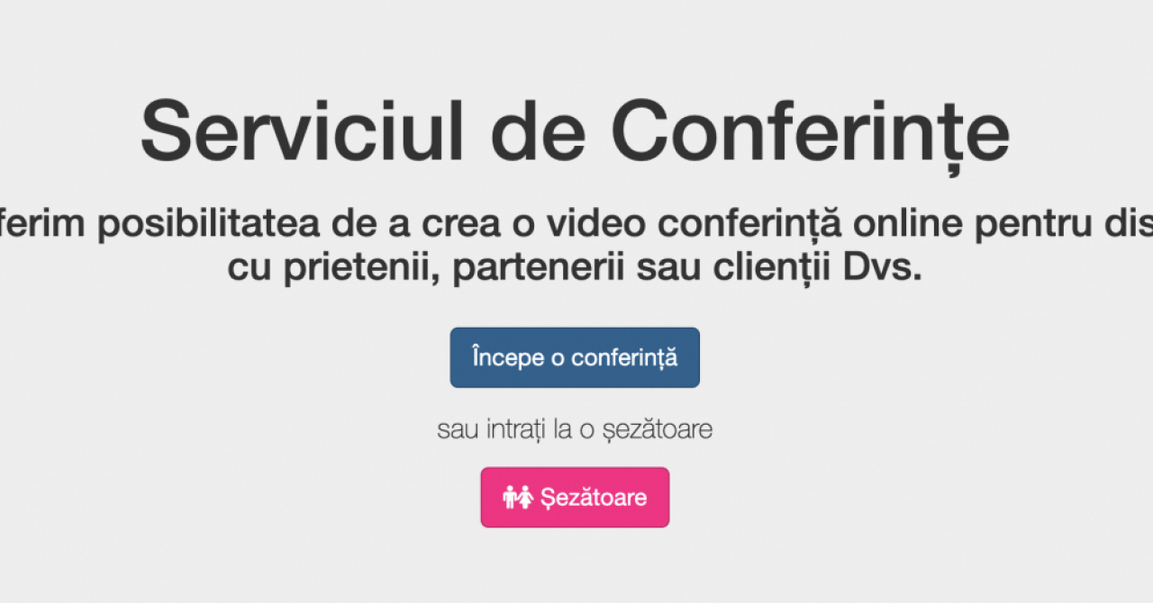 Covid-19: Privesc.eu lansează un serviciu gratuit de videoconferințe