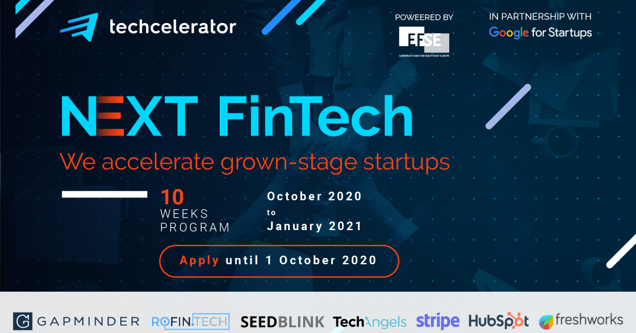 Techcelerator opens applications for fifth batch, with focus on Fintech startups