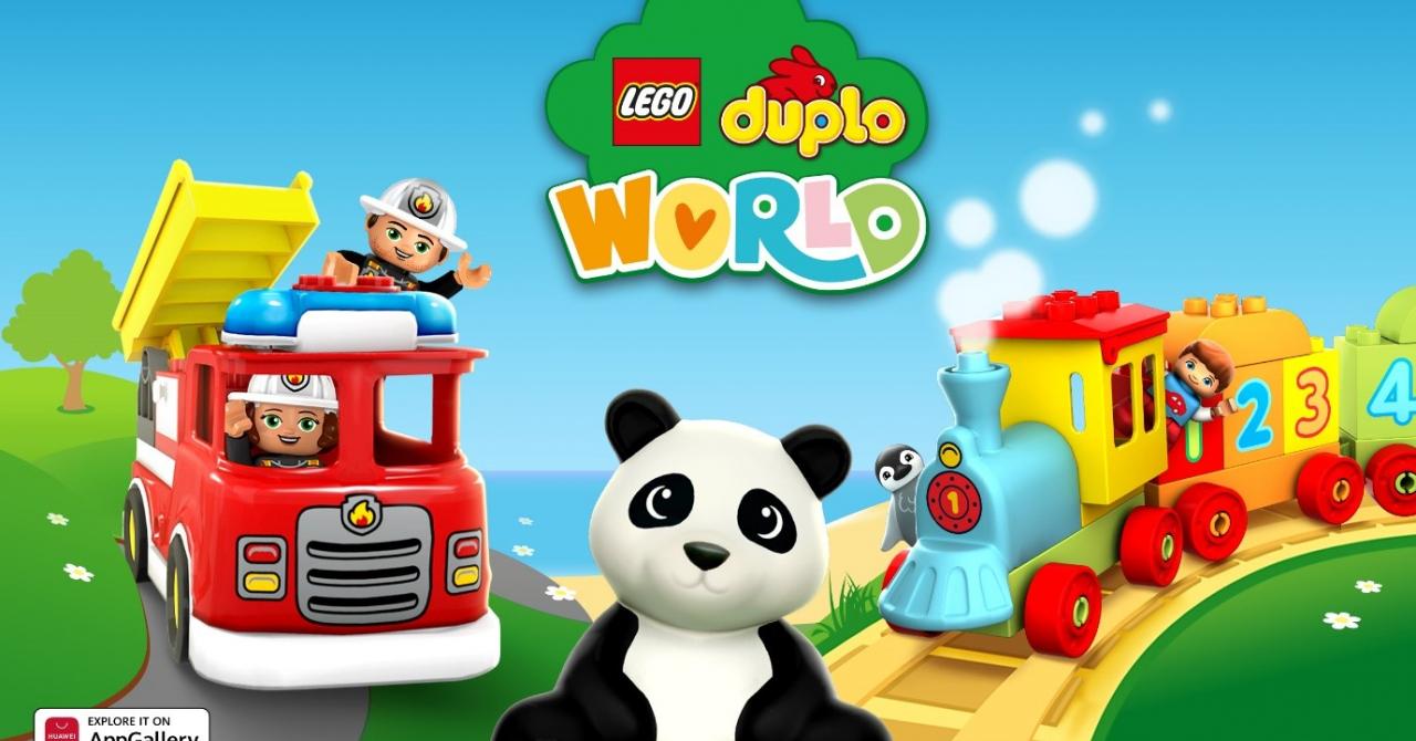 Aplicația educativă pentru copii LEGO DUPLO WORLD, disponibilă în AppGallery