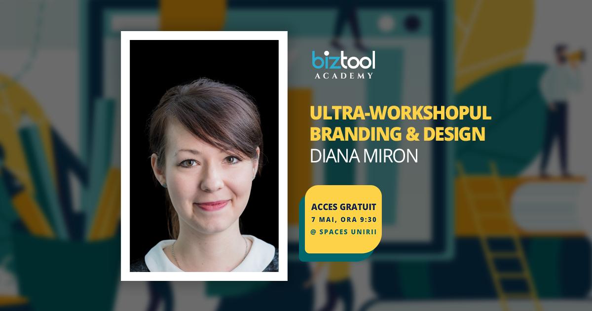 BizTool Academy, ultra-workshop gratuit: cum să construiești un brand