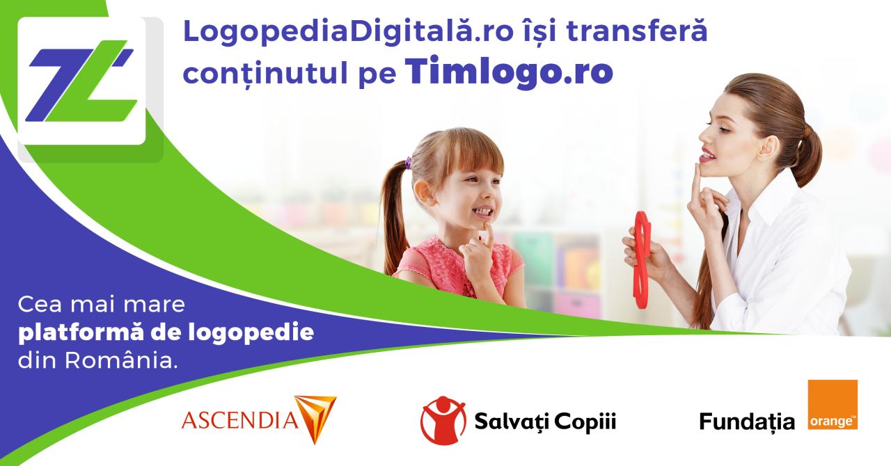 900 de instrumente logopedice disponibile gratuit pe Timlogo.ro
