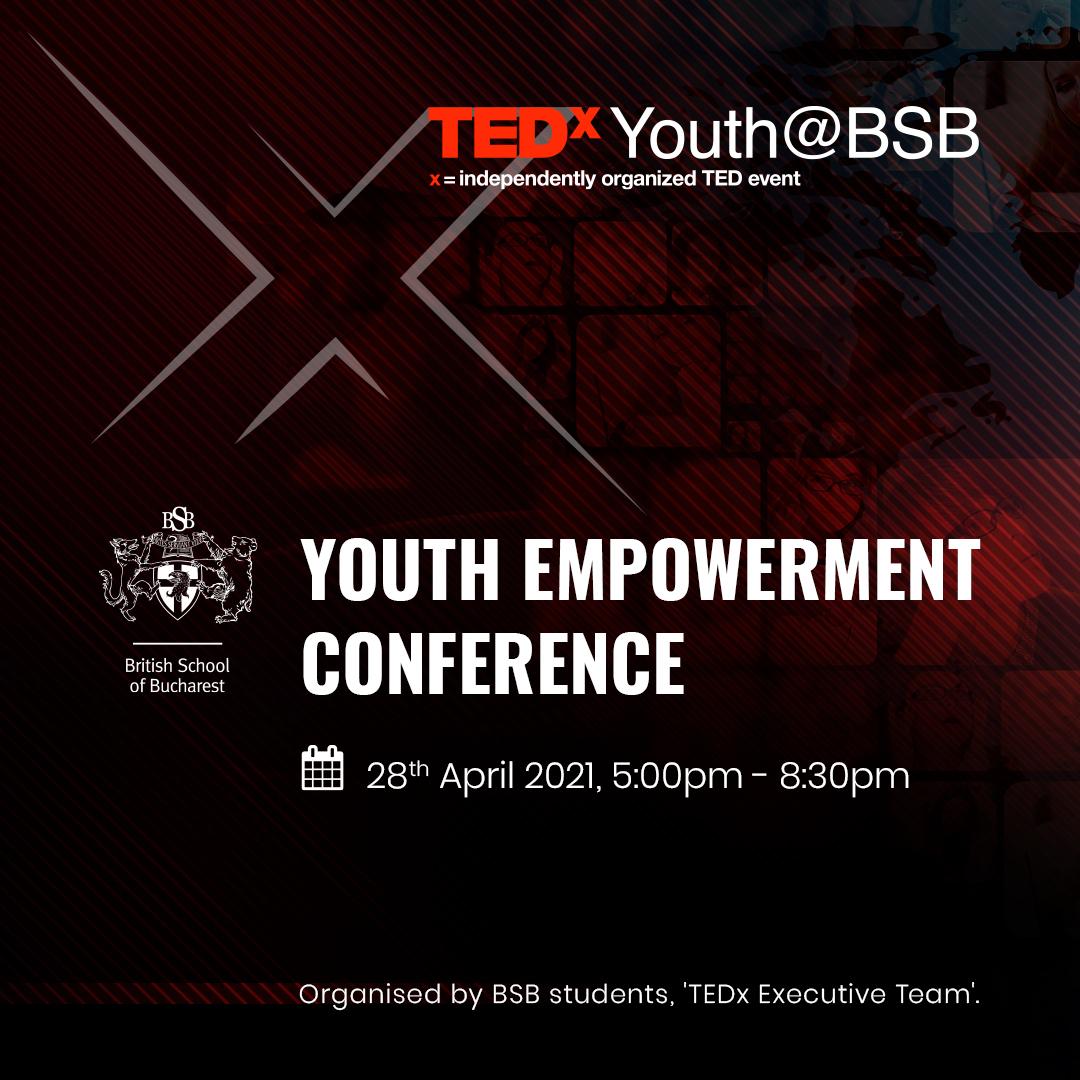 TEDx Youth@BSB, eveniment organizat și susținut în totalitate de studenți