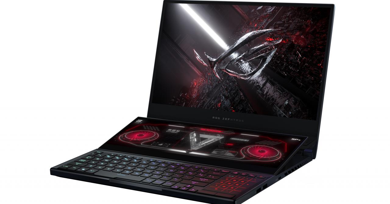 Laptopul de gaming cu două ecrane, ROG Zephyrus devine mai bun