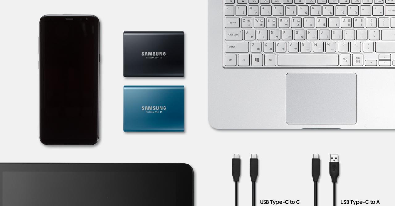 Samsung T5 este cel mai rapid SSD portabil