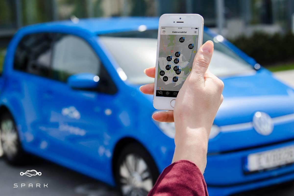 Spark, serviciul de car-sharing cu mașini electrice, vine în România