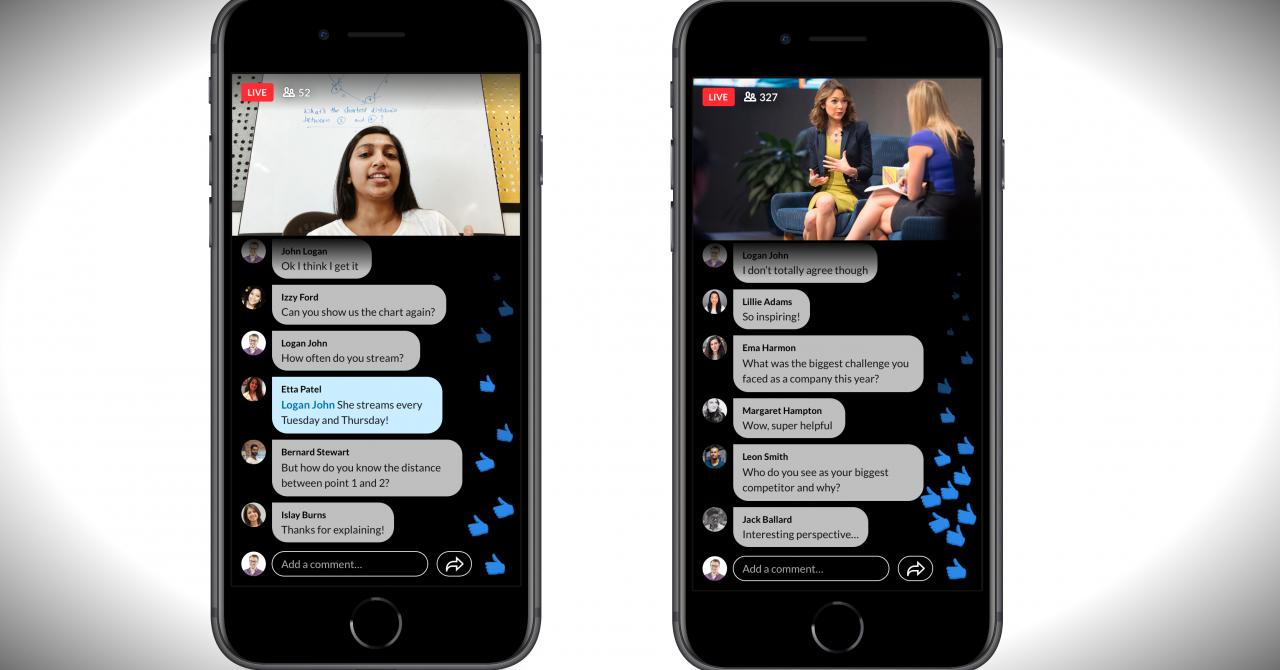 LinkedIn intră în live: Platforma permite acum transmisiunile video