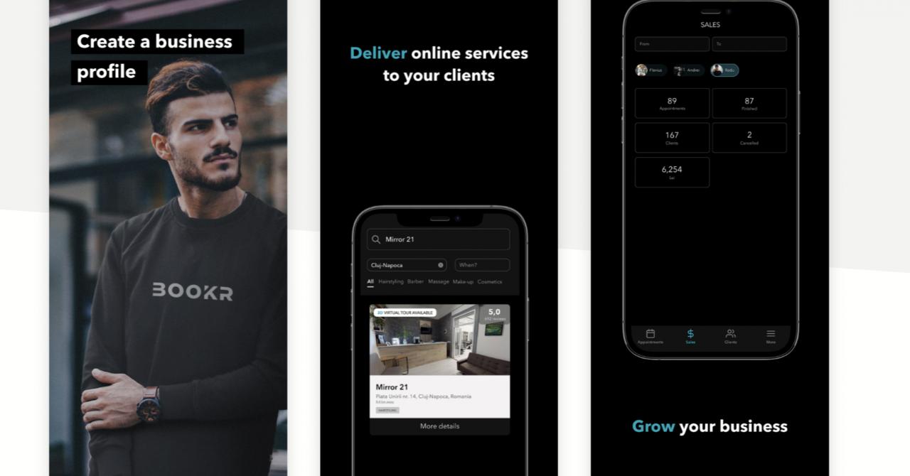 Bookr, aplicația românească de rezervări online și tururi 3D ale afacerilor