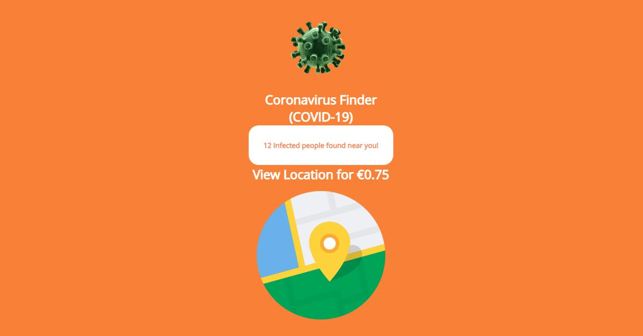 Virusul care îți cere bani ca să vezi persoanele infectate cu COVID-19