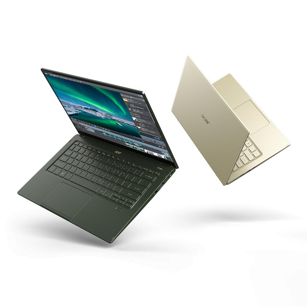 Acer Swift 5 - dispozitivul de doar un kilogram și ecran antimicrobi