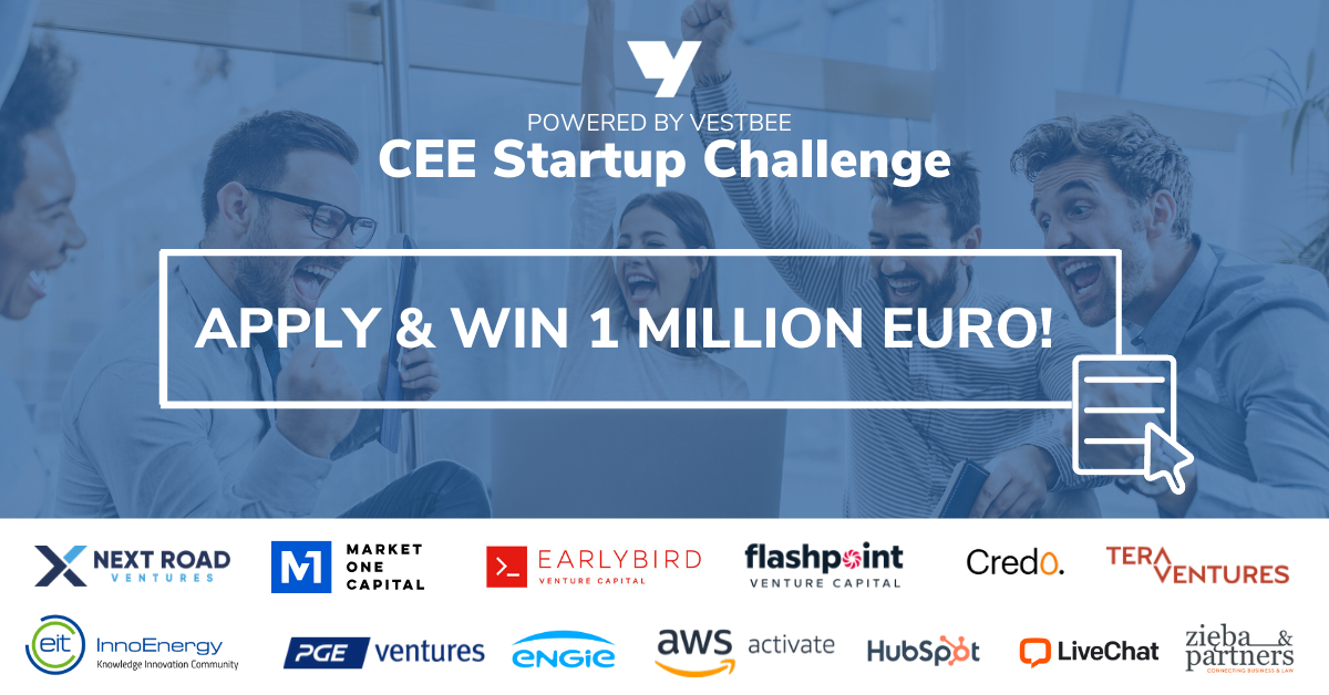 CEE Startup Challenge: 1 mill. € in the biggest online competition for startups