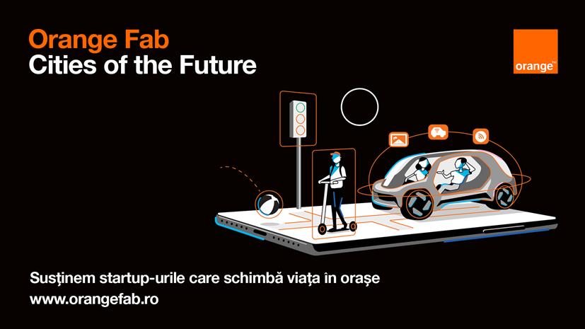 Orange Fab: 4 startup-uri selectate din programul Cities of the Future