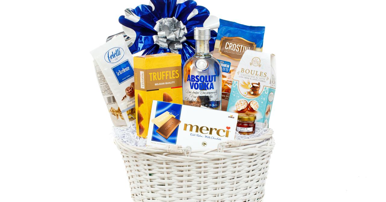 Coșuri cadou de Crăciun: gourmetGIFT, despre piața de cadouri corporate