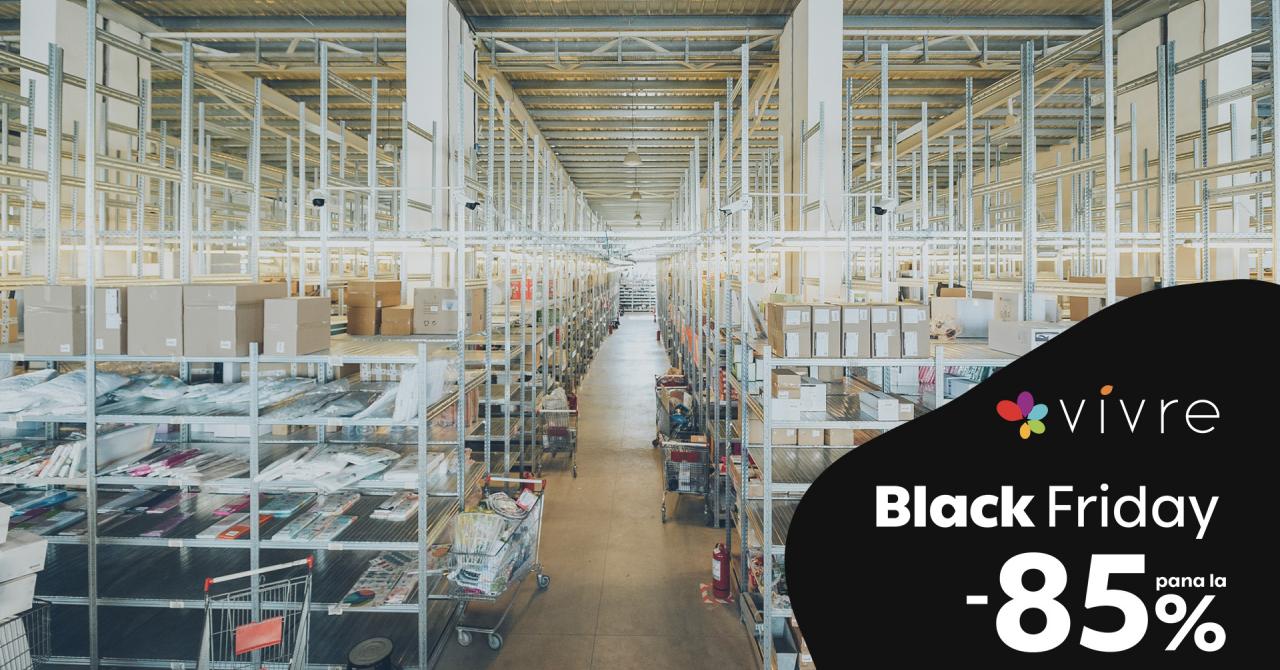 Black Friday: Vivre lansează campania de vară de pe 8 iulie