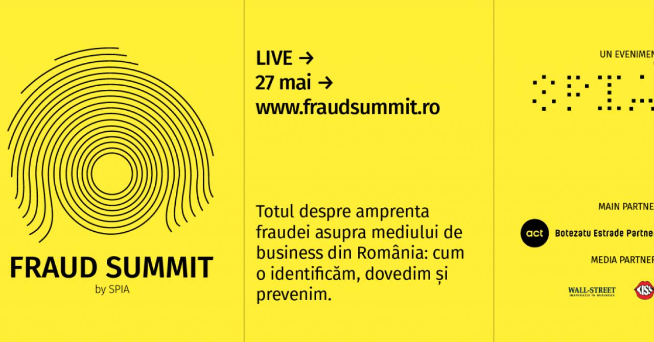 Companiile pierd 5% anual din cauza activităților ilicite. Primul summit antifraudă organizat din România