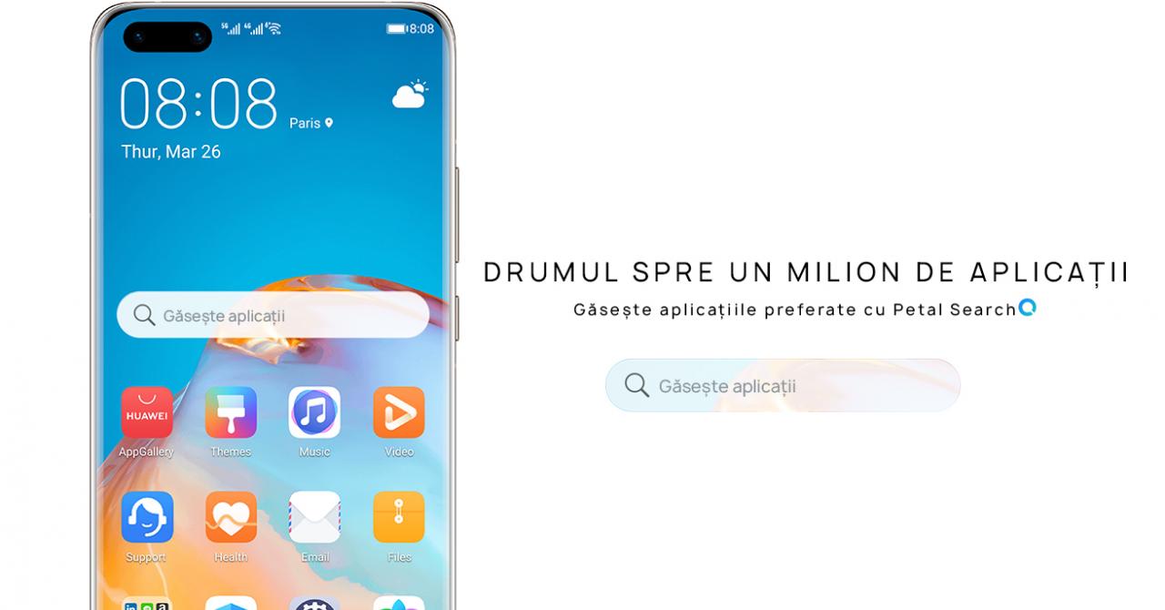 Huawei a lansat Petal Search, un motor de căutare pentru smartphone-urile Huawei