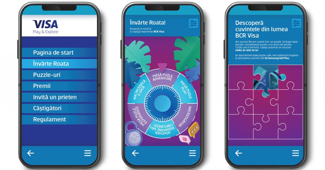BCR&Visa, program de gamification pentru a atrage lumea spre servicii digitale