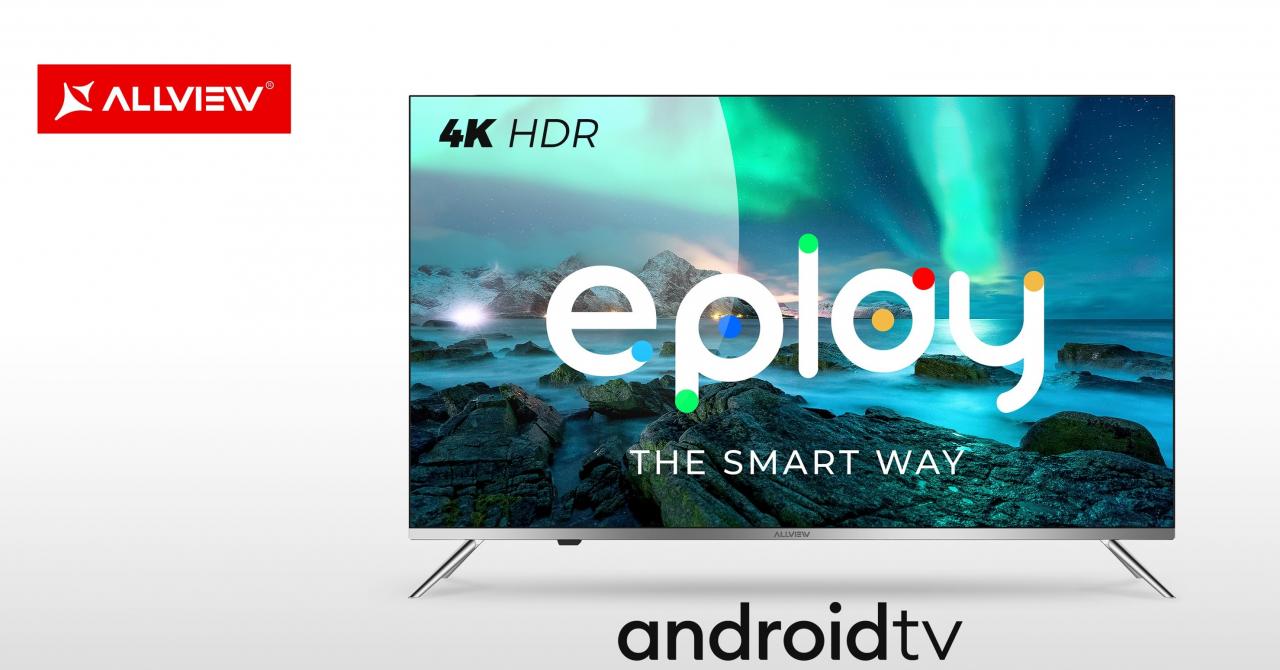 Allview își extinde gama de televizoare cu modele 4K HDR