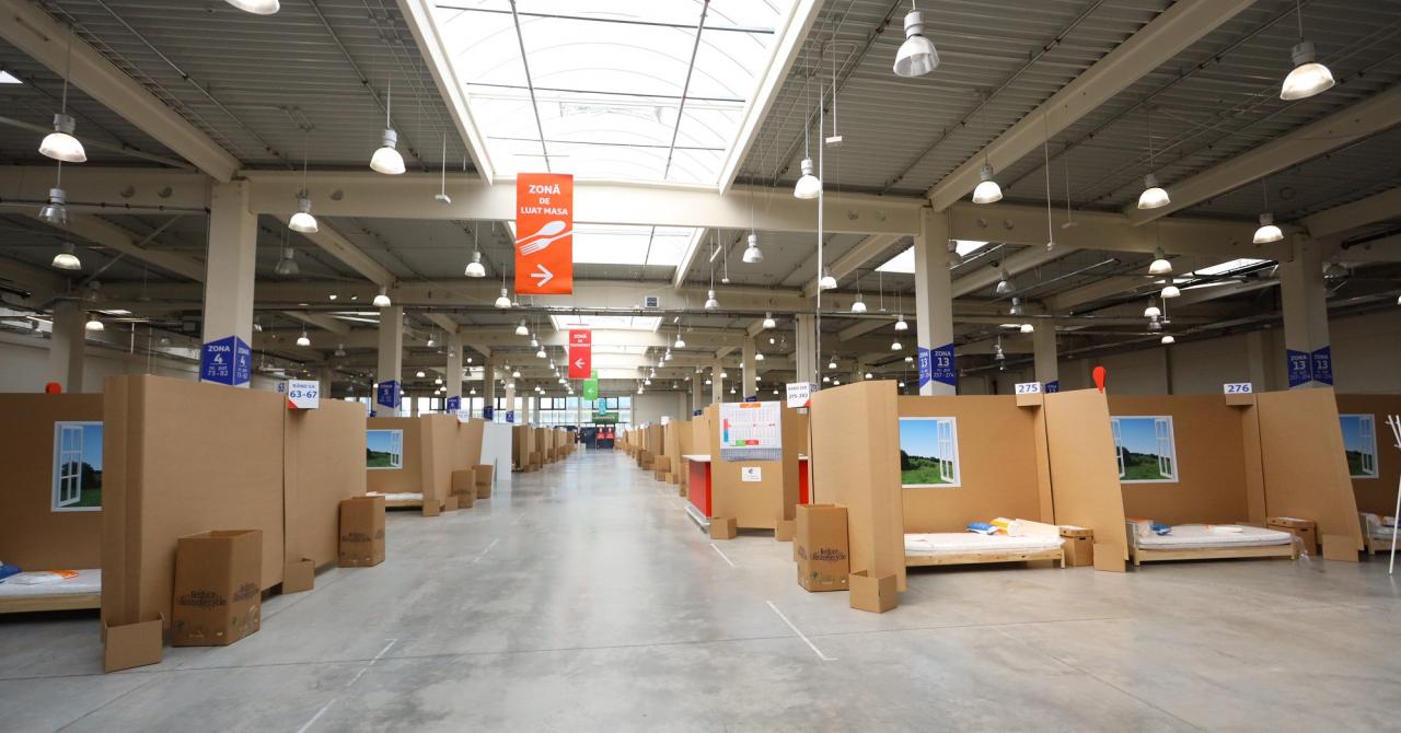 Cum arată unitatea de suport medical inițiată de Auchan și Leroy Merlin