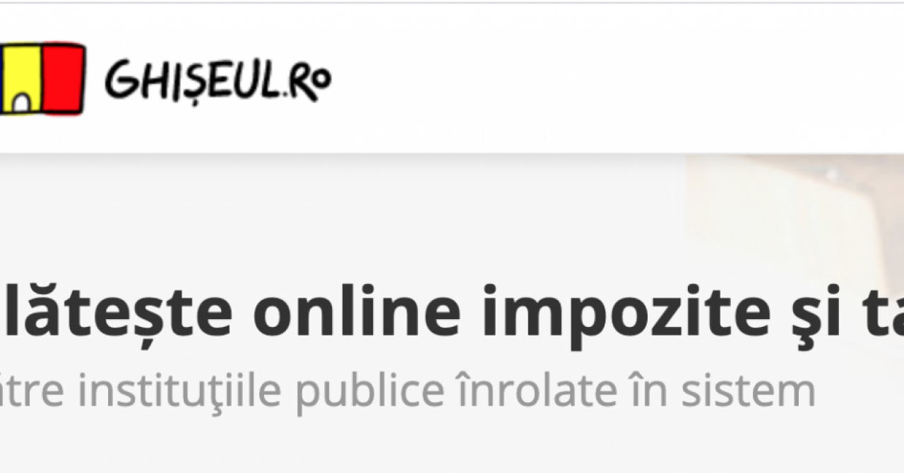 Facilități pentru firme: Spațiul Privat Virtual & ghiseul.ro sunt interconectate