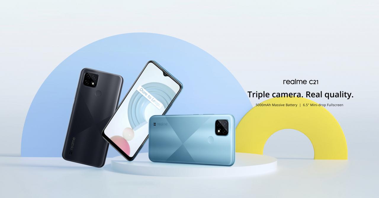 realme C21, telefon foarte ieftin și bun cu certificare de calitate