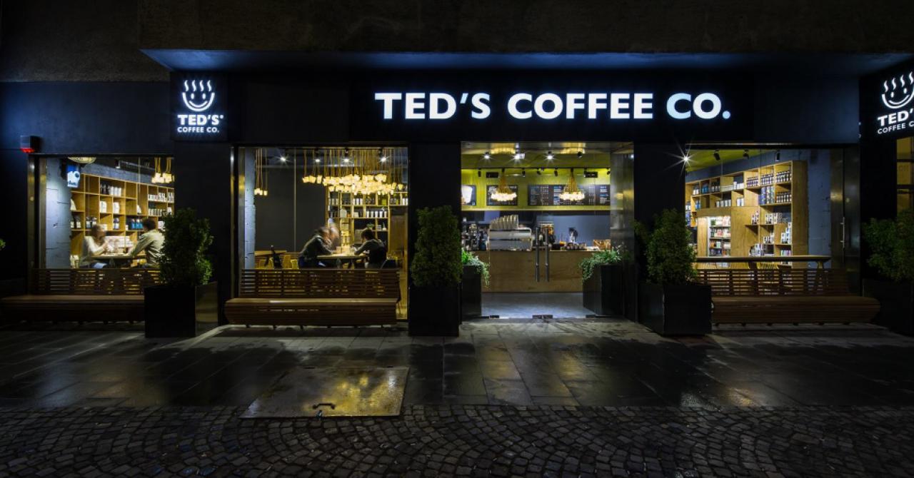 Franciza TED'S COFFEE CO.: 3 deschideri în septembrie. Valoarea investiției