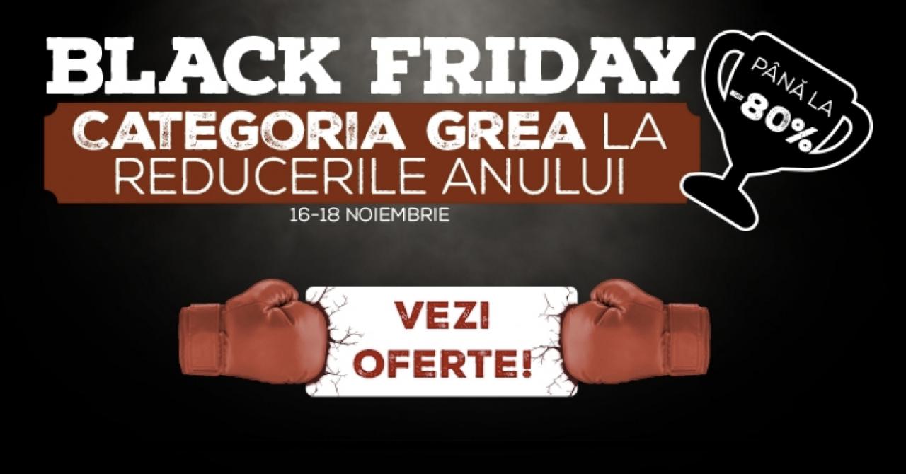 Black Friday 2018 la evoMAG începe la miezul nopții. Primele oferte