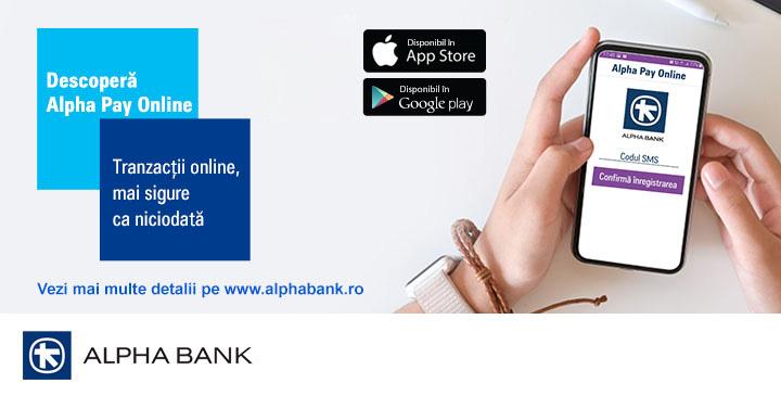 Noua aplicația Alpha Pay Online: înlocuiește codurile 3D secure din ecommerce