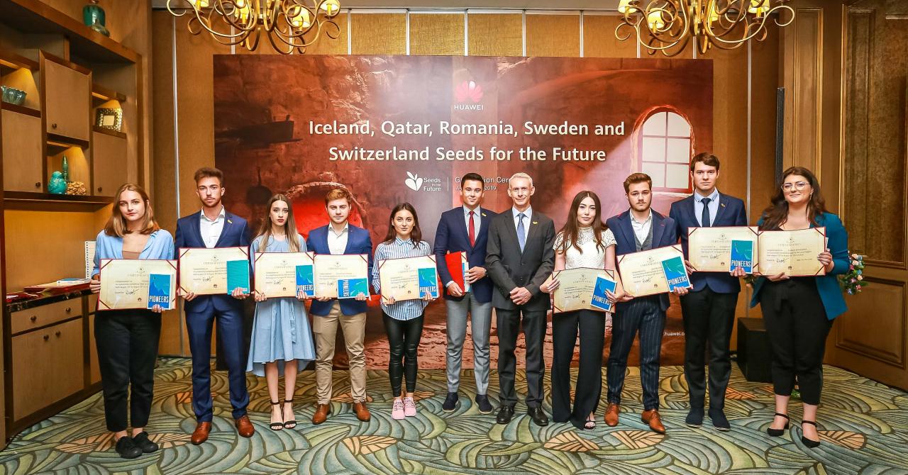 8 tineri români au participat la programul Huawei Seeds for the Future