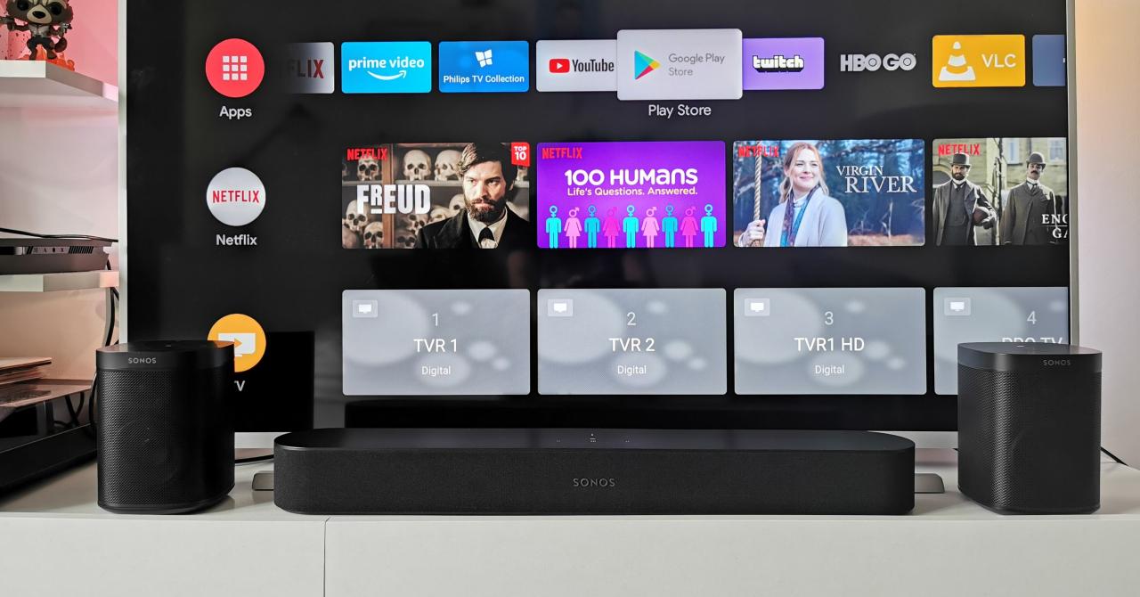 REVIEW Sonos Beam + One SL, sistem home cinema premium