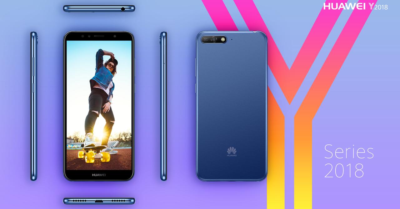Huawei Y6 2018 și Y7 Prime 2018 ajung în România. Cât costă?