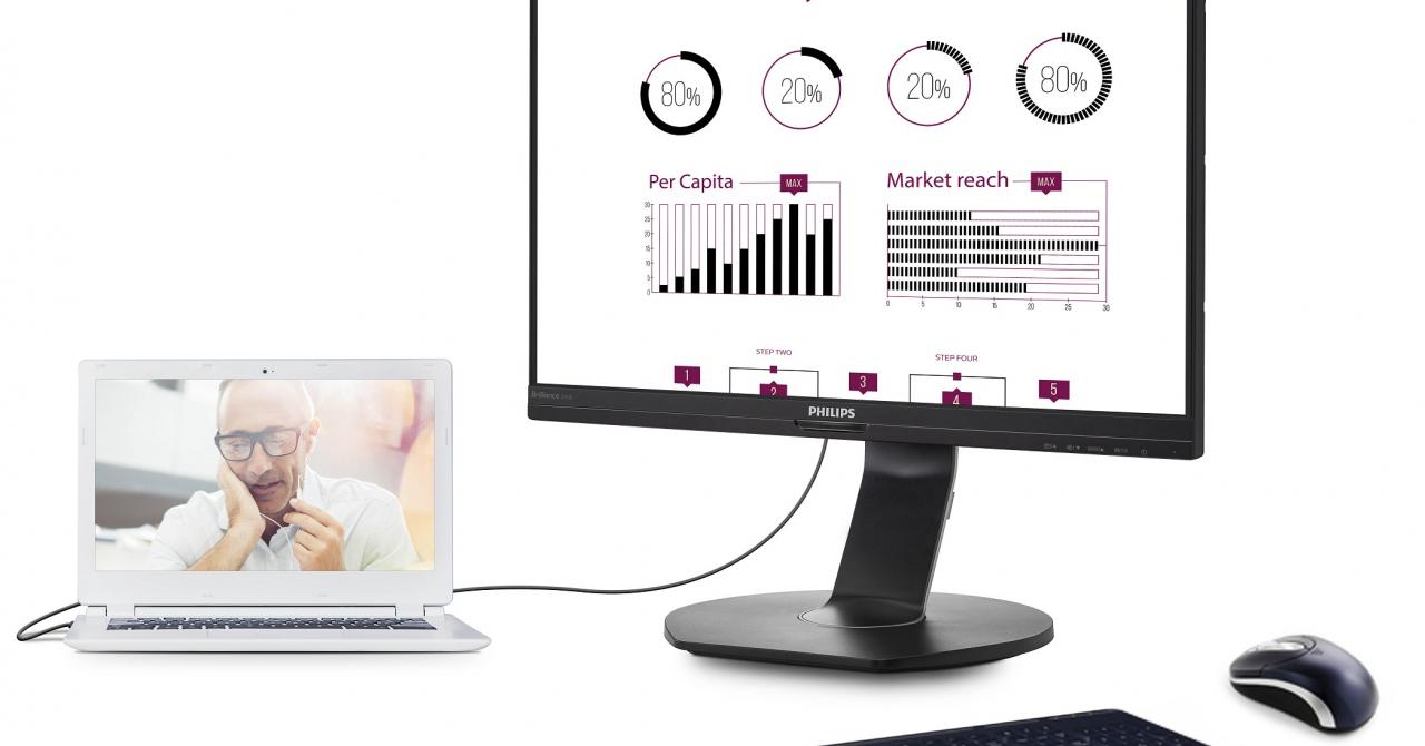 Acest monitor îți oferă toate porturile care lipsesc de pe ultrabook