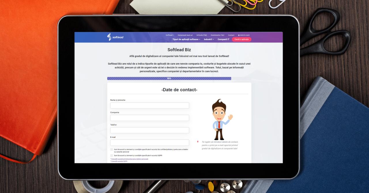 Softlead Biz, aplicația care măsoară gradul de digitalizare al companiilor