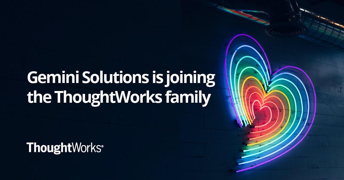 Gemini Solutions, cu sediul de IT în România, achiziționată de ThoughtWorks